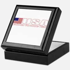 USA National Cornhole Team Keepsake Box