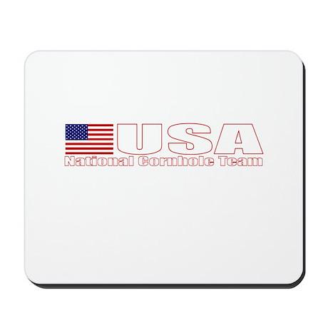 USA National Cornhole Team Mousepad