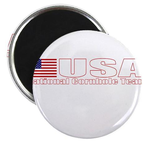 "USA National Cornhole Team 2.25"" Magnet (10 pack)"