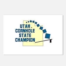 Utah Cornhole State Champion Postcards (Package of