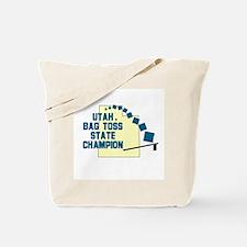 Utah Bag Toss State Champion Tote Bag