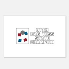 Utah Bag Toss State Champion Postcards (Package of