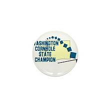 Washington Cornhole State Cha Mini Button (10 pack