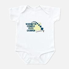 Washington Cornhole State Cha Infant Bodysuit