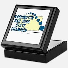 Washington Bag Toss State Cha Keepsake Box