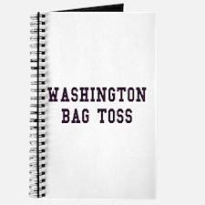 Washington Bag Toss Journal