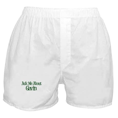 Ask Me About Gavin Boxer Shorts