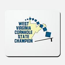 West Virginia Cornhole State Mousepad