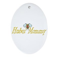 Honey Mommy Oval Ornament
