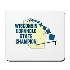 Wisconsin Cornhole State Cham Mousepad