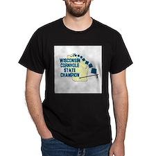 Wisconsin Cornhole State Cham T-Shirt