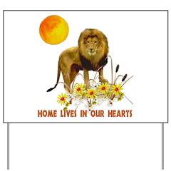 Home For Kwanzaa Yard Sign
