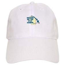 Wisconsin Bag Toss State Cham Baseball Cap