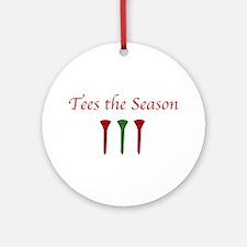 Tees the Season -Ornament (Round)