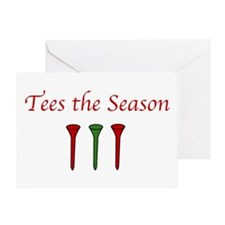 Tees the Season - Greeting Card