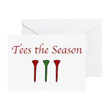 Tees the Season - Greeting Card
