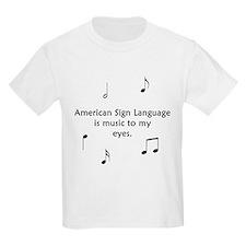 Deaf Music T-Shirt