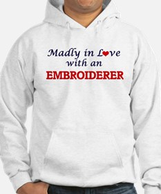 Madly in love with an Embroidere Hoodie