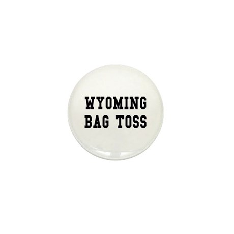 Wyoming Bag Toss Mini Button (10 pack)