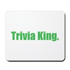 Trivia King Mousepad