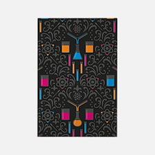 Pretty nerdy Rectangle Magnet