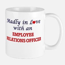 Madly in love with an Employee Relations Offi Mugs