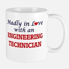 Madly in love with an Engineering Technician Mugs