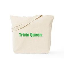 Trivia Queen Tote Bag