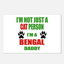 I'm a Bengal Daddy Postcards (Package of 8)
