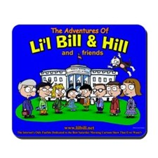 Li'l Bill & Hill and Friends Mousepad