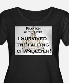 "Phantom of the Opera ""Falling Chandelier"" Plus Siz"