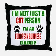 I'm an Ojos Azules Daddy Throw Pillow