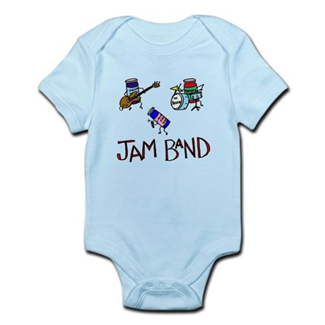 """Jam Band"" Infant Bodysuit"