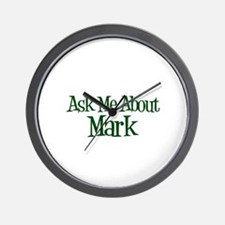 Ask Me About Mark Wall Clock