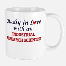 Madly in love with an Industrial Research Sci Mugs