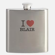 I Love BLAIR Flask