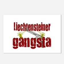Liechtensteiner Gangsta Postcards (Package of 8)