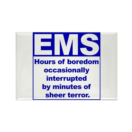 EMS - Boredom... Rectangle Magnet (10 pack)