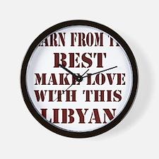 Learn best about Libya Wall Clock