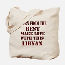 Learn best about Libya Tote Bag