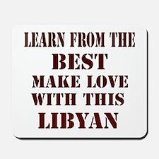 Learn best about Libya Mousepad