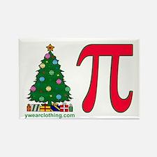 Christmas Pi Rectangle Magnet