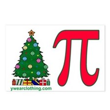 Christmas Pi Postcards (Package of 8)