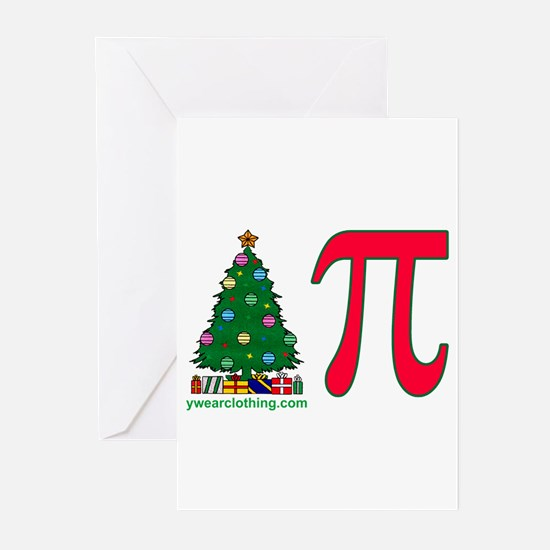 Christmas Pi Greeting Cards (Pk of 10)