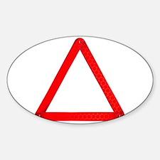 Vehicle Warning Triangle Decal