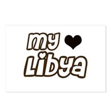 my heart Libya Postcards (Package of 8)