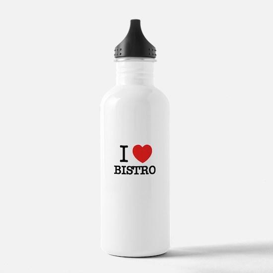 I Love BISTRO Water Bottle