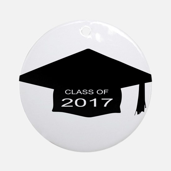 Class of 2017 Round Ornament