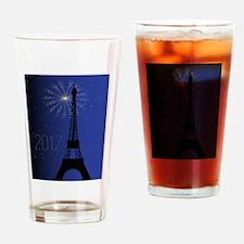 Paris Night 2017 Drinking Glass