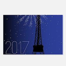 Paris Night 2017 Postcards (Package of 8)